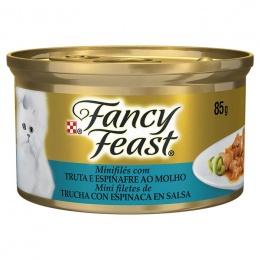 Proplan Fancy Feast Trucha con espinaca Latas - Gato